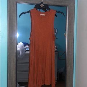 PinkRose Long Cotton Dress